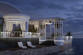 Baku Guest Island Pavilion