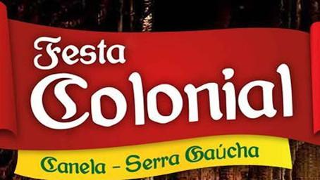 Festa Colonial e a Semana Farroupilha de Canela deverão ocorrer entre 11 de setembro e 02 de outubro