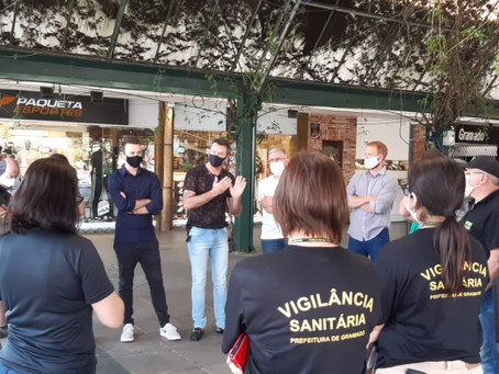 Em Gramado, monitoramento em tempo real é implantado na Rua Coberta