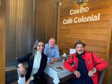 Zanis Coelho vence a Covid-19 e está de volta, firme e forte, ao convívio com os amigos