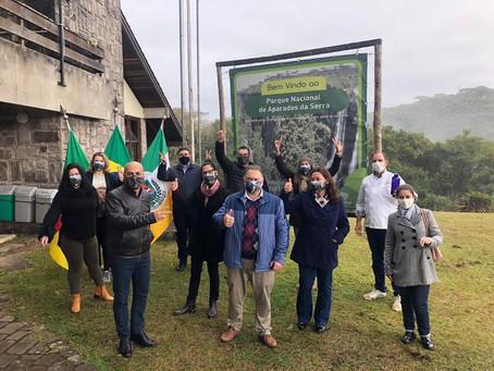 Reabertura dos Cânions marca a retomada do turismo em Cambará do Sul