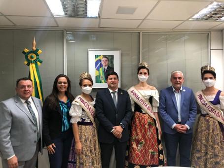 Embratur e  secretário de Turismo de Caxias do Sul alinham divulgação da Festa das Colheitas 2021