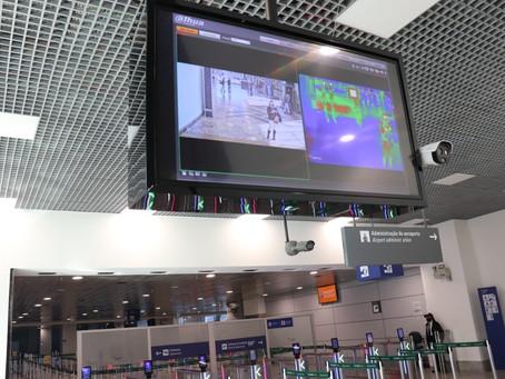 Aeroporto Salgado Filho implanta medição de temperatura