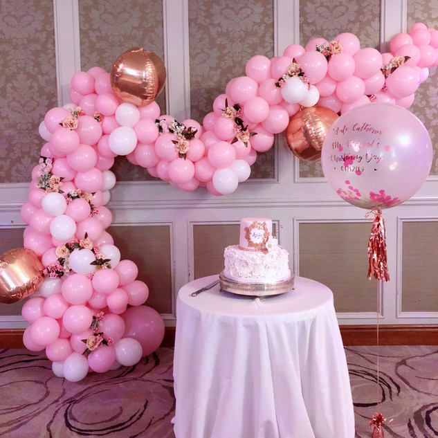 Balloon garland  Sizes vary