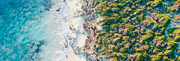 Land Meets Sea Wallpaper