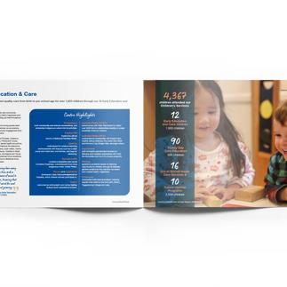 Communtiesatwork annual report spread