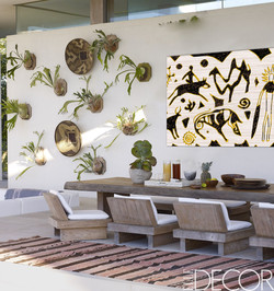Patio wall outdoor wall art_Ethic