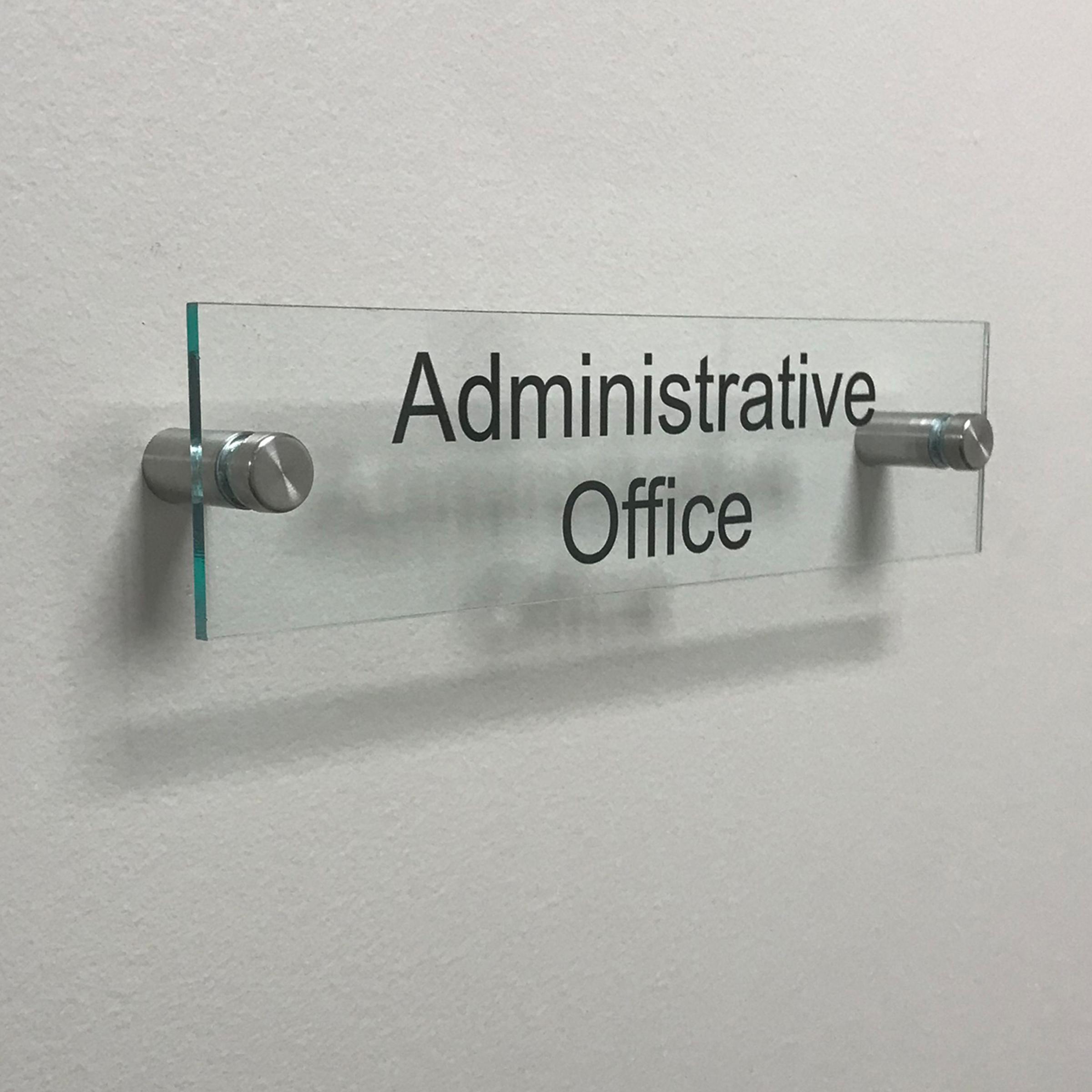 acrylic sign