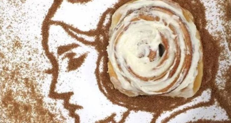Cinnabon use Princess Leia image to promote their brand when Carrie Fisher died