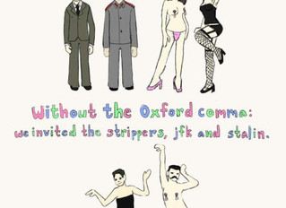 Oh how I love the Oxford Comma!