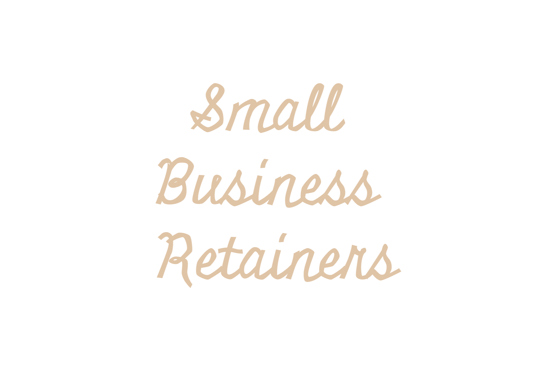 Small Business retainers