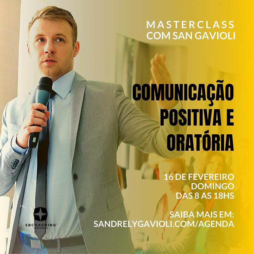 MASTERCLASS - COMUNICAÇÃO POSITIVA E ORATÓRIA
