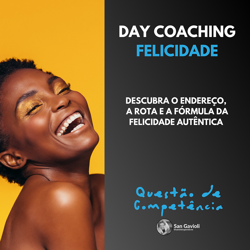 Day Coaching ROTA DA FELICIDADE