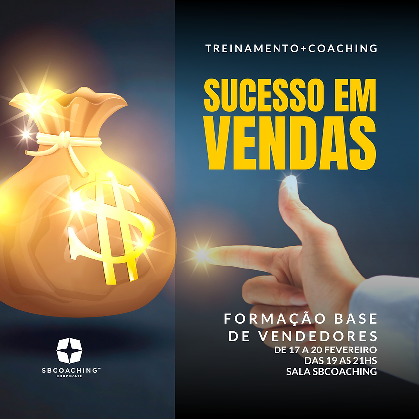 TREINAMENTO - FORMAÇÃO BASE DE VENDEDORES - SUCESSO VENDAS