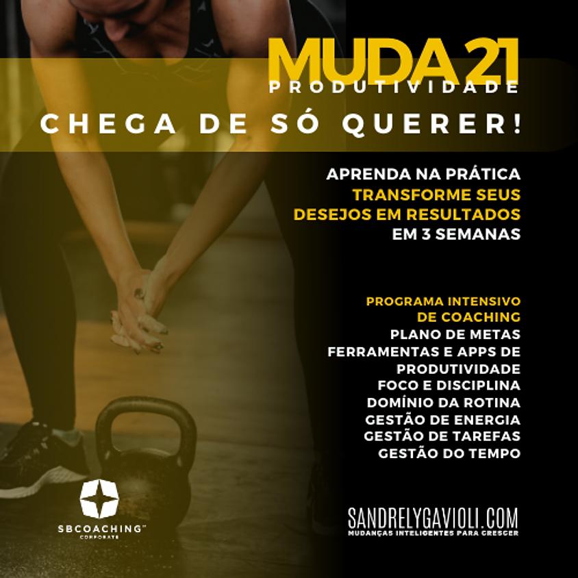 MENTORIA MUDA21 - PRODUTIVIDADE :: TURMA 3