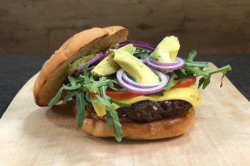 Rezept Focaccia-Burger (Trinkgeld)