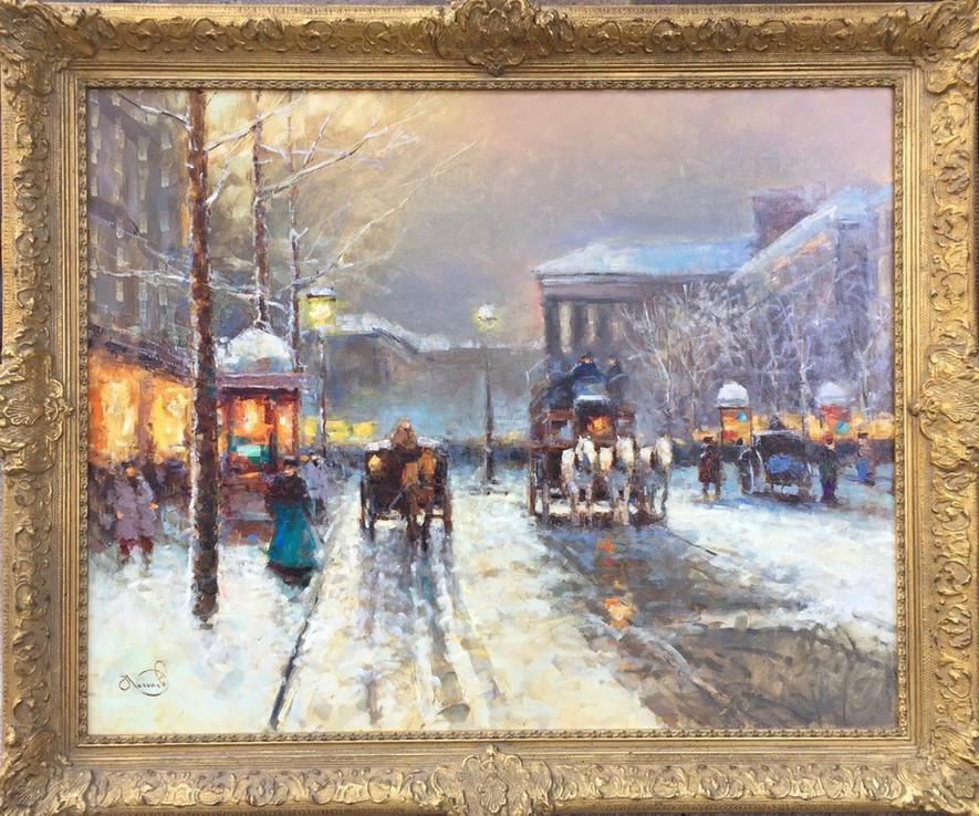 'Paris in Winter'