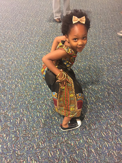 Loulee Style African Dress