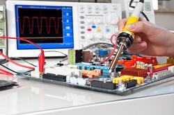 Soldering of electronic equipment