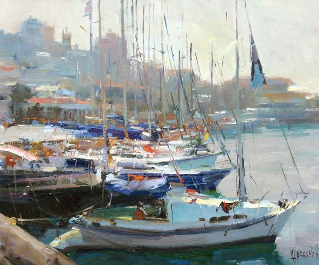'Morning in the Port'