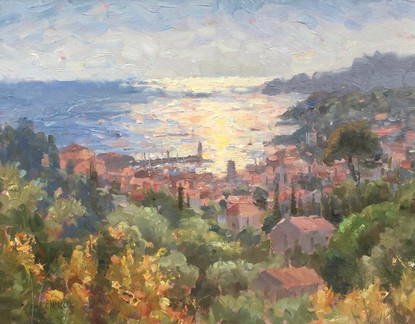 'Sunset in Cassis'