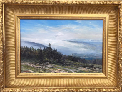 'Clouds on Cadillac Mt. Mount Desert, Maine'