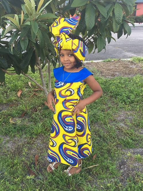 Emma Style African Dress