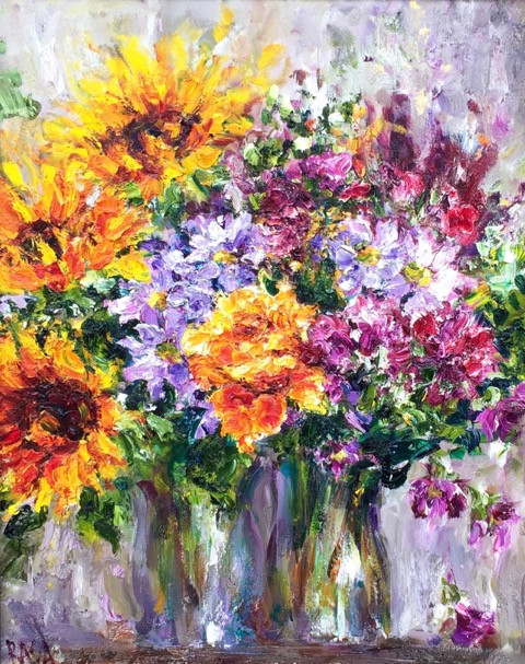 'Bouquet of Sunflowers'