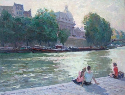 'On the Banks of the Seine'