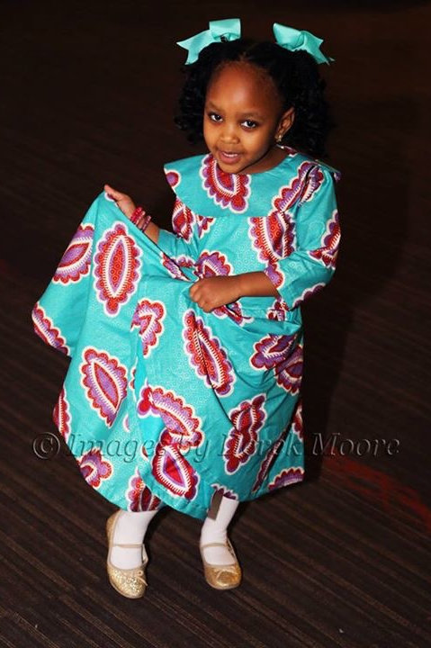 Nia African Style Dress