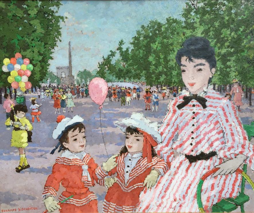 'Jardin des Tuileries, Paris'