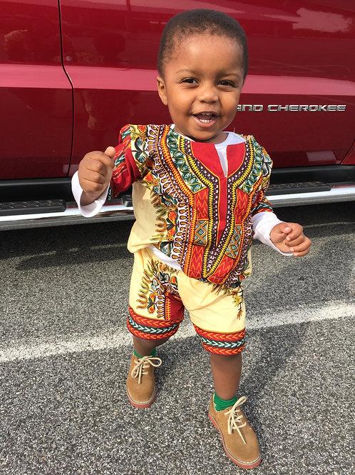 Keith Afrian Style Short Set