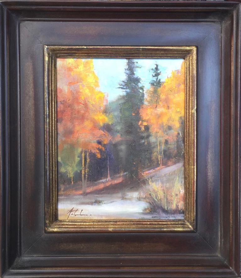 'Trees in Autumn'