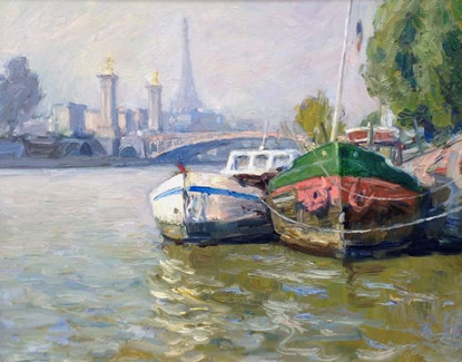 'Boats on the Seine'