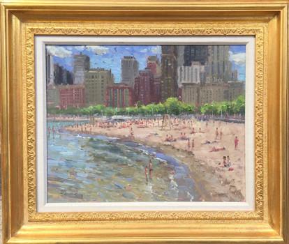 'A Day at Oak Street Beach'