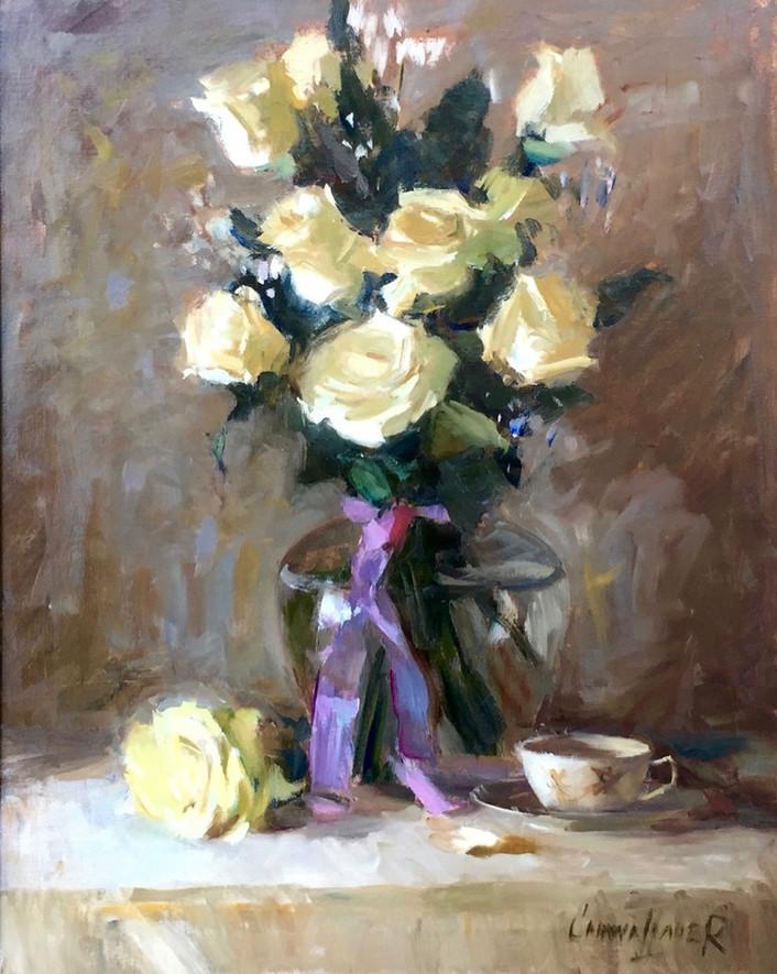 'Ivory Roses'