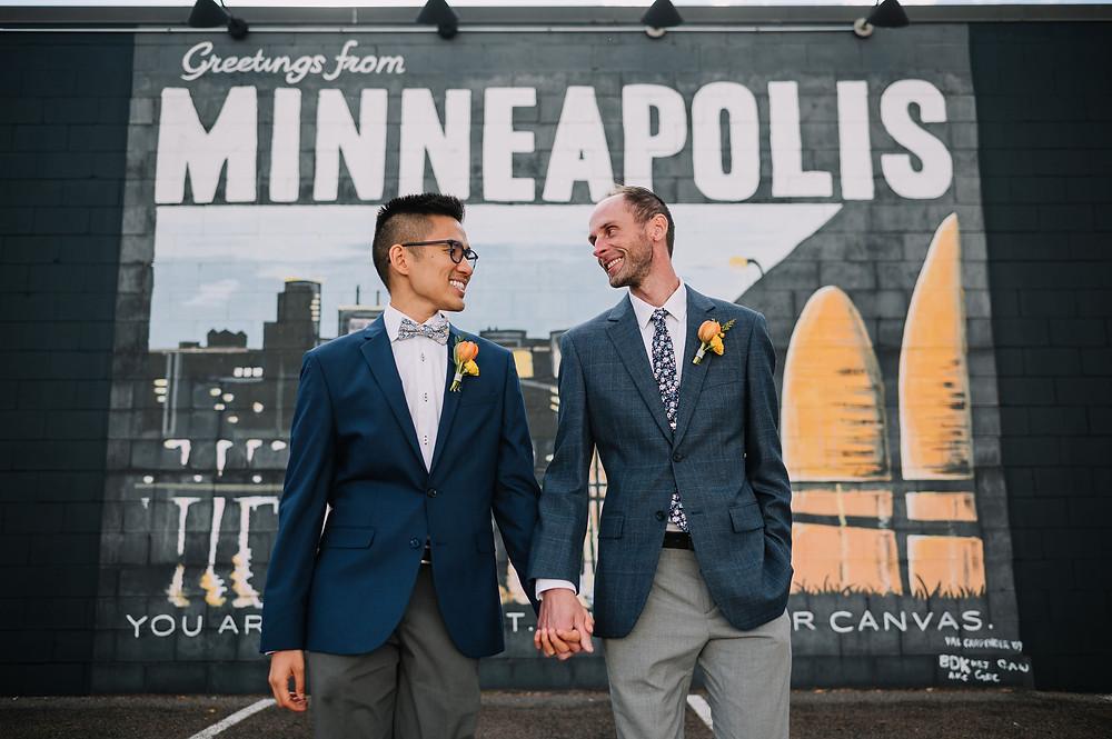 Minneapolis wedding florist, gay wedding florist, same sex wedding florist