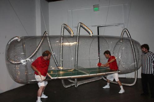 Bubble Boy Ping Pong