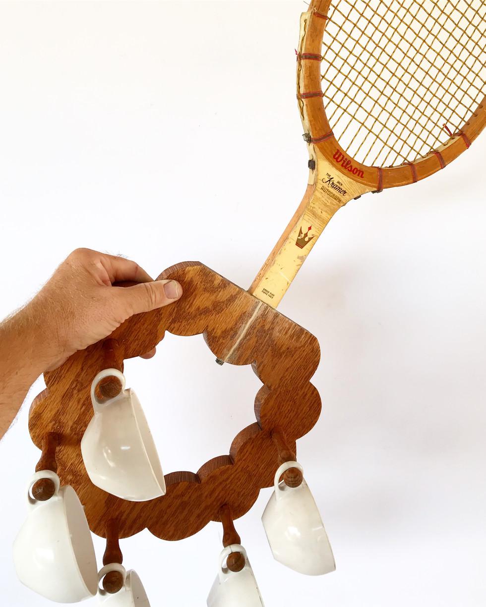 Teacup Racket: Modified Tennis Racket Series no. 2