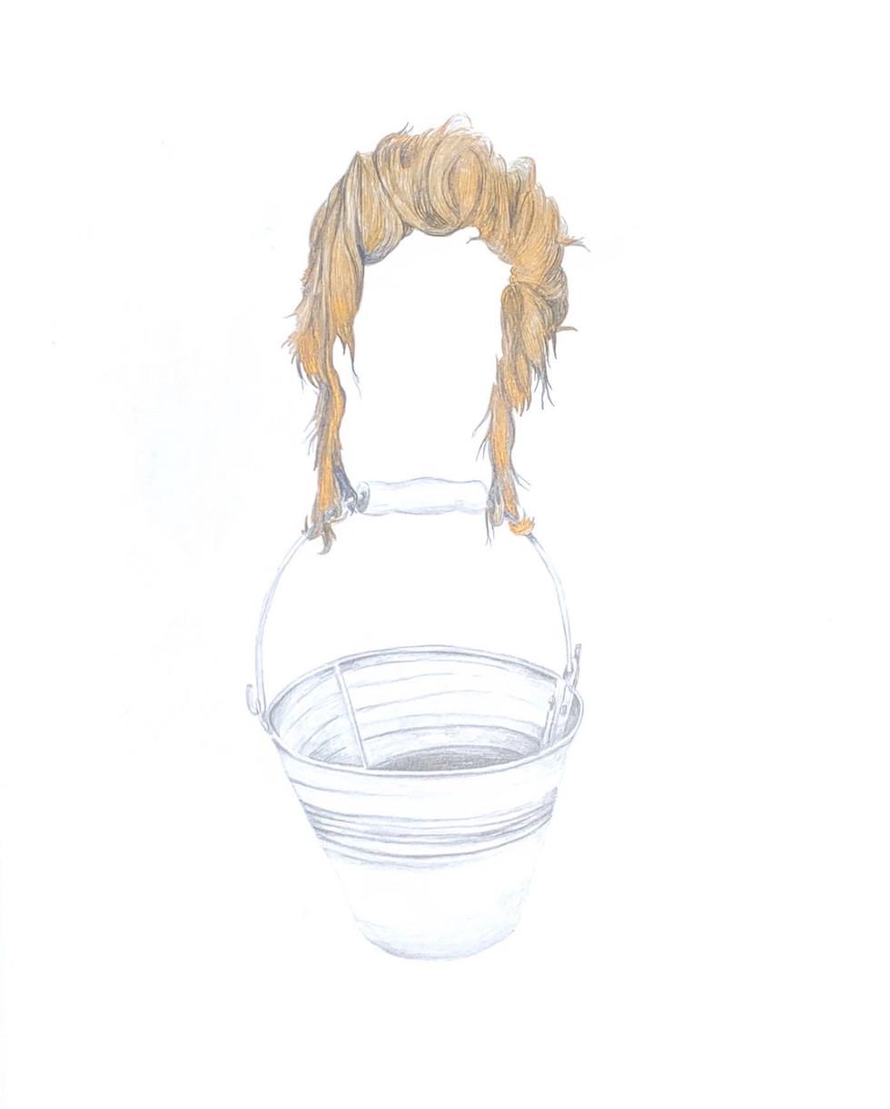 Golden Hair & Bucket