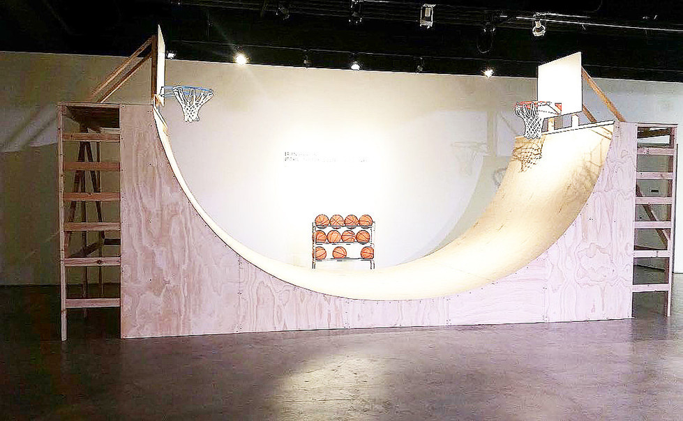 Basketball Half-Pipe: Brian & Ryan Collaboration