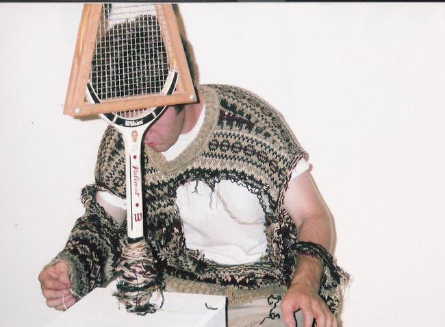 I tradred My Sweaters for Tennis