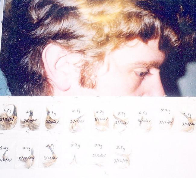 Golden Hair Piece
