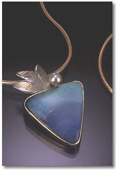 Lila's Muse Opal Pendant