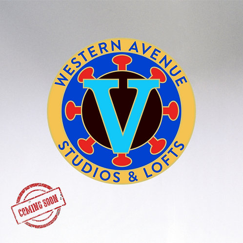 Western Avenue Vaccine Victory Pin *Preorder* Pick-Up Only