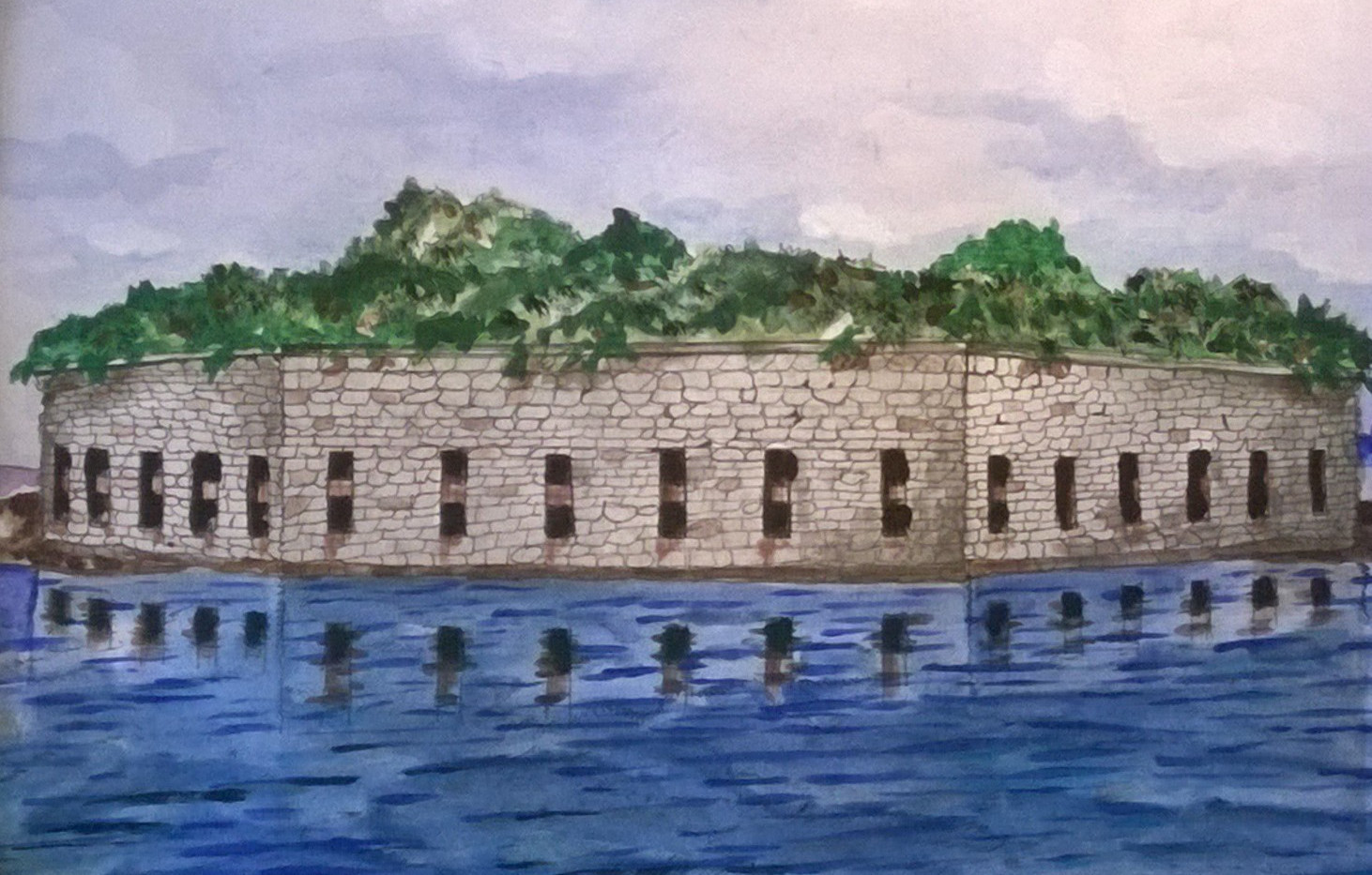 Fort Gorges Mural