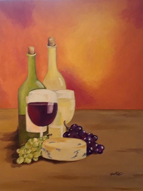 Red, White and Bleu Cheese - SOLD