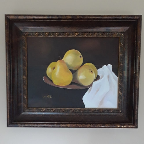 Pears on a Platter  - SOLD