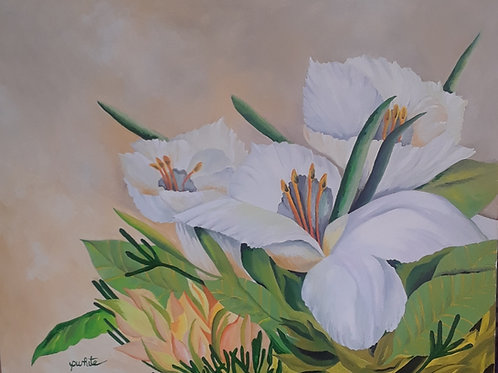 Lilies By The Window - SOLD