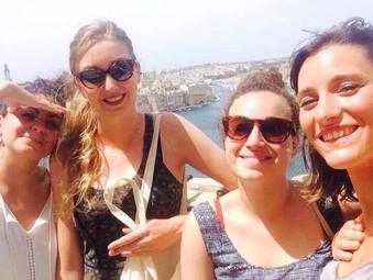 Une stagiaire à Malte
